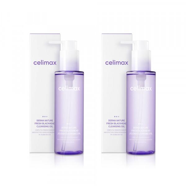 [CELIMAX] 1+1 Derma Nature Fresh Blackhead Jojoba Cleansing Oil - 150ml