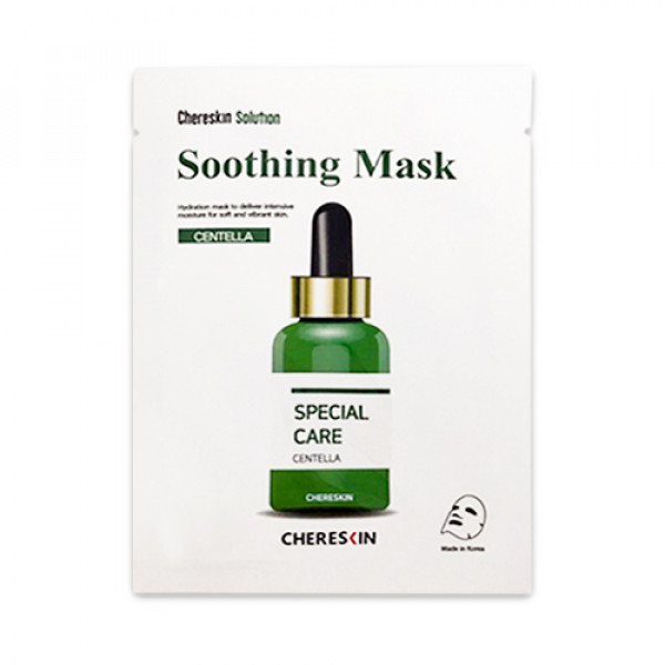 [CHERE SKIN] Centella Soothing Mask - 1pack (10pcs)