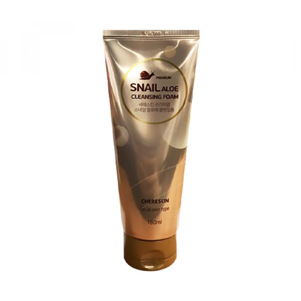 [CHERE SKIN] Premium Snail Aloe Cleansing Foam - 180ml