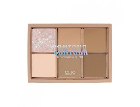 [CLIO] Pro Contour Palette Mute Hazel - 19.8g