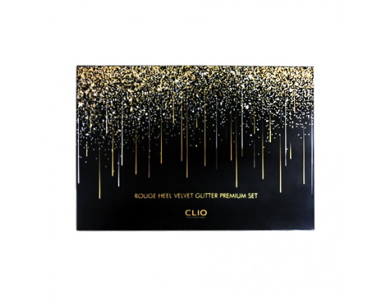 [CLIO] Rouge Heel Velvet Glitter Premium Set - 1pack (4items)