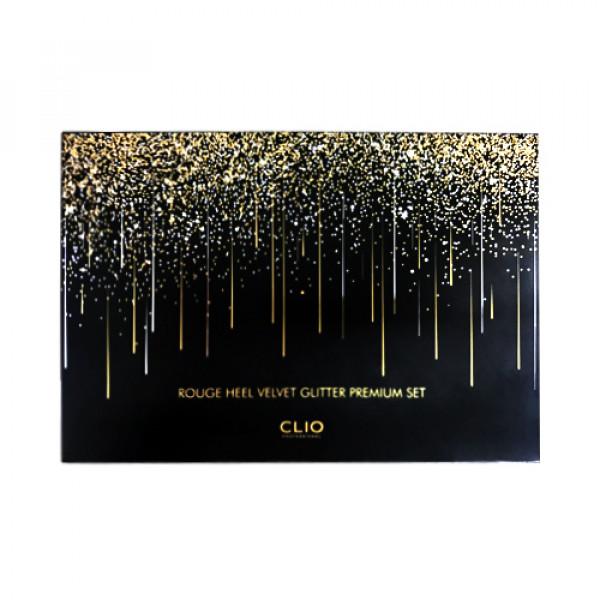[CLIO] Rouge Heel Velvet Glitter Premium Set - 1pack (4items)