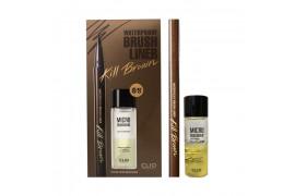 W-[CLIO] Waterproof Brush Liner Kill Brown (Original Set) - 1pack (2items) x 10ea
