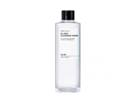 [CLIO] Micro Fessional O2 Deep Cleansing Water - 500ml