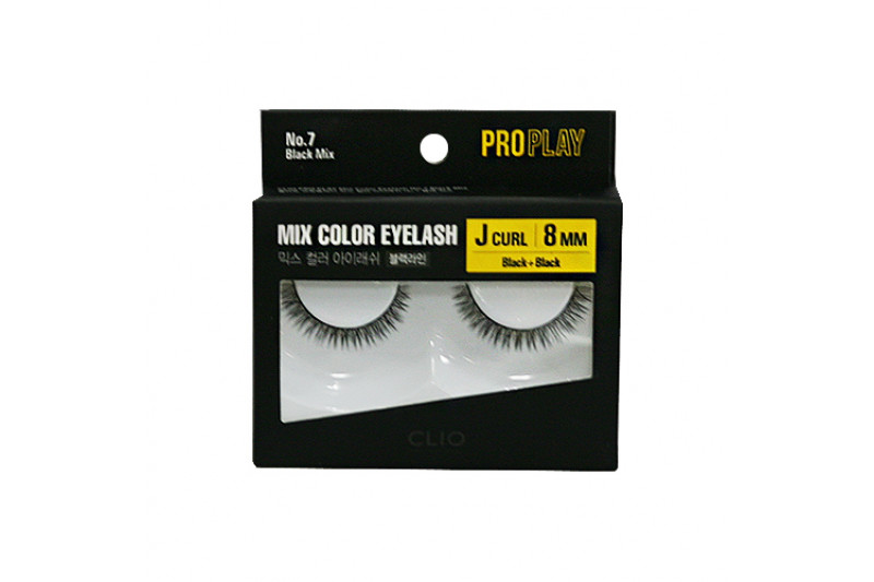 [CLIO] Pro Play Mix Color Eyelash - 1pcs (07~10)