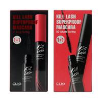 [CLIO] Kill Lash Superproof Mascara 1+1 Set - 1pack (7g x 2pcs)