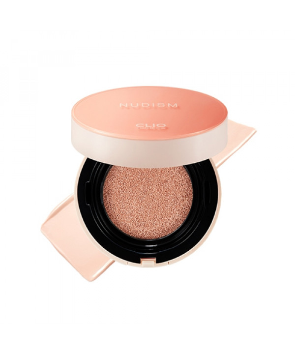 [CLIO_LIMITED] Nudism Moist Cover Cushion - 1pack (15g+Refill) (SPF50+ PA++++) (Flawed Box)