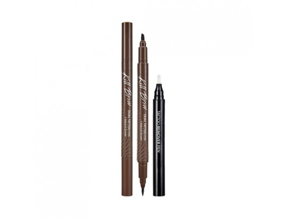 [CLIO] Kill Brow Dual Tattoo Pen Set - 1pack (2items)