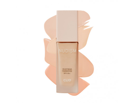 [CLIO] Nudism Velvet Wear Foundation - 35g (SPF15 PA+)