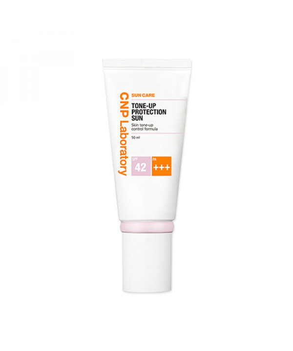 [CNP LABORATORY] Tone Up Protection Sun - 50ml (SPF42 PA+++)(Free gift)