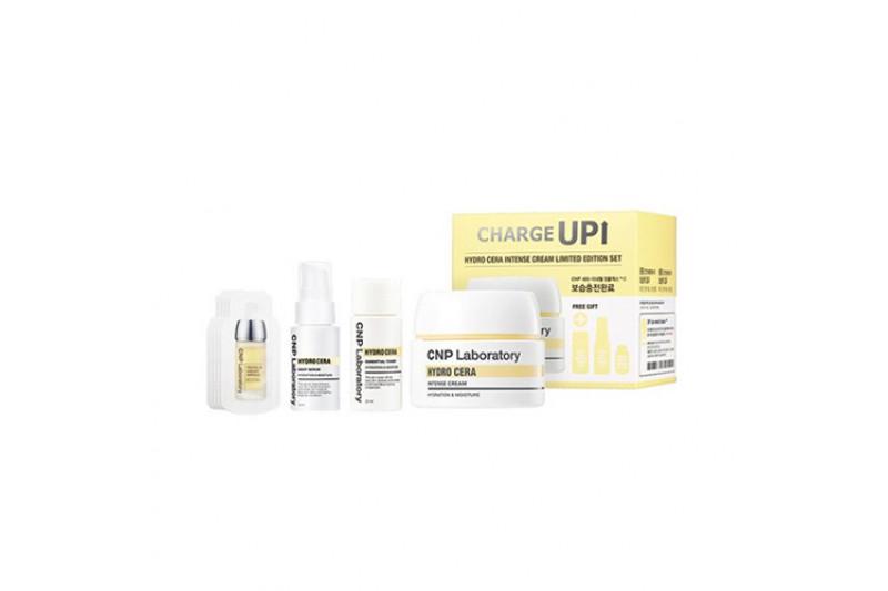 W-[CNP LABORATORY] Hydro Cera Intense Cream Limited Edition Set - 1pack (4items) x 10ea