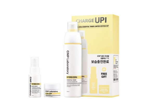 [CNP LABORATORY] Hydro Cera Eseential Toner Limited Edition Set - 1pack (3items)