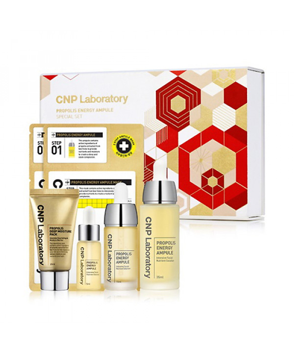 [CNP LABORATORY] Propolis Energy Ampule Special Set - 1pack (5items)(Free gift)