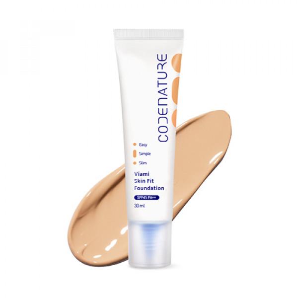 W-[CODENATURE] Viami Skin Fit Foundation - 30ml (SPF45 PA++) x 10ea