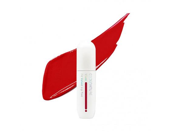 [CODENATURE] Viami Fit Velvet Lip Tint - 4ml No.Red