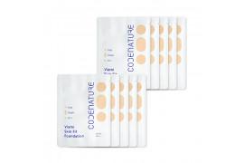 [CODENATURE_Sample] Viami Skin Fit Foundation Samples - 10pcs (SPF45 PA++)