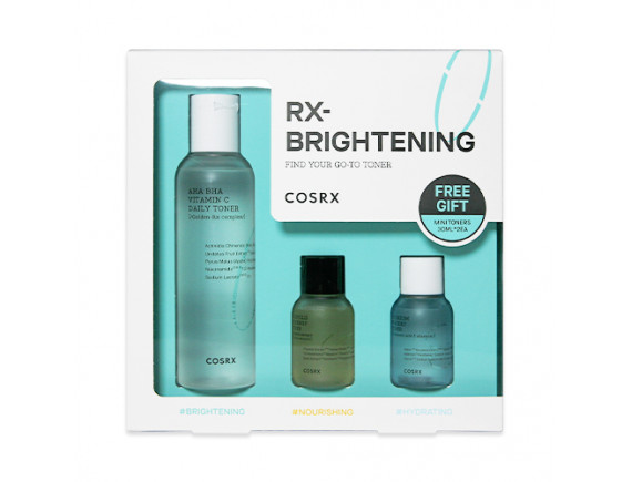 [COSRX] Find Your Go To Toner - 1pack (3items) No.Brightening