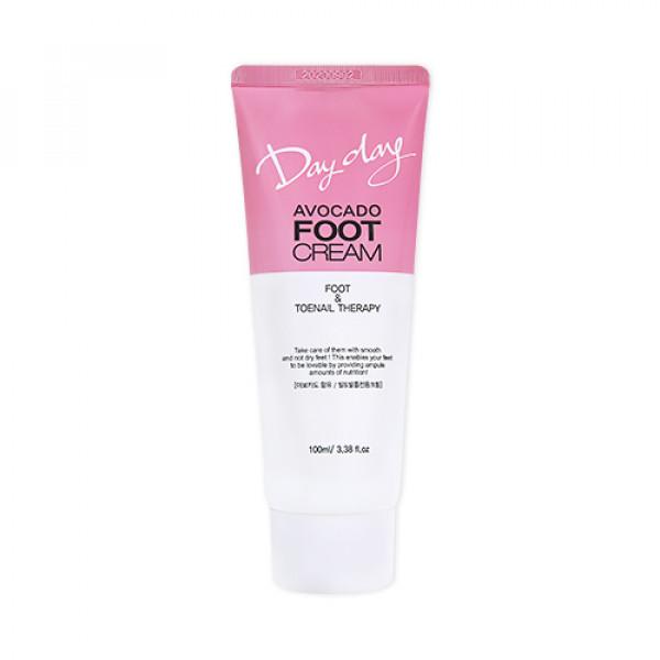 W-[DAYDAY] Avocado Foot Cream - 100ml x 10ea