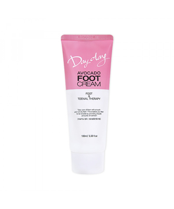 W-[DAYDAY] Avocado Foot Cream - 100ml x 10ea