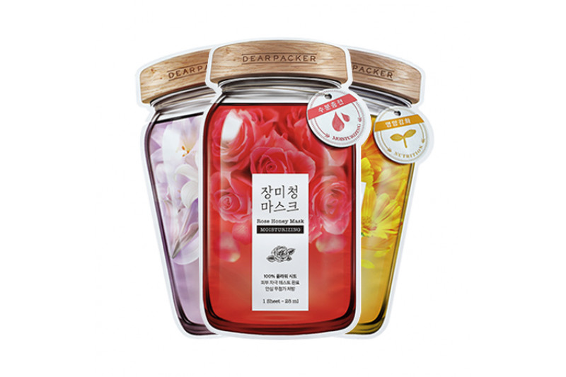 [DEARPACKER] Honey Mask - 1pcs