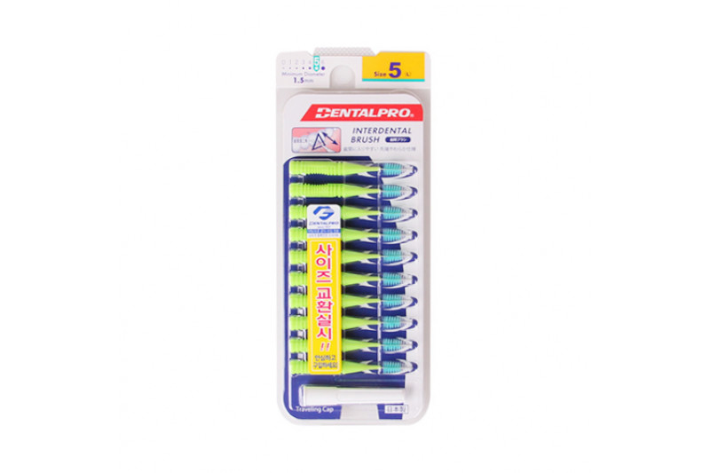 [DENTALPRO_LIMITED] I Shaped Interdental Brush - 1pack (10pcs)