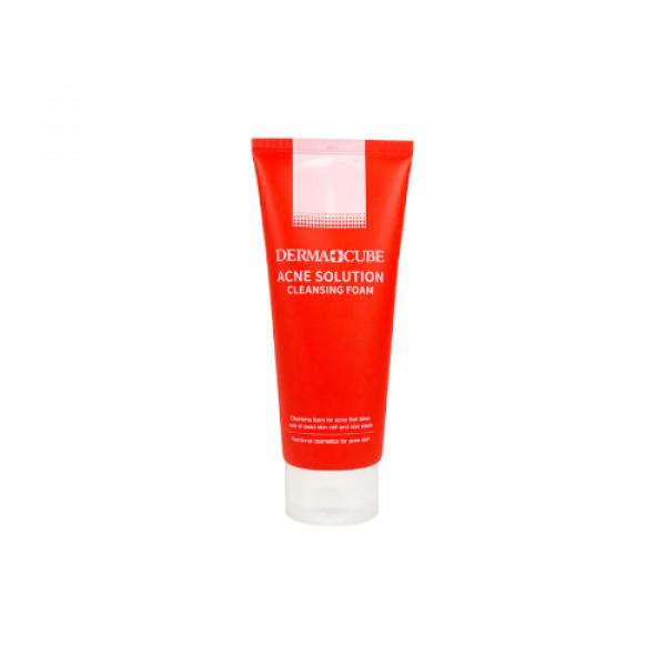 [DERMA CUBE] Acne Solution Cleansing Foam - 180ml