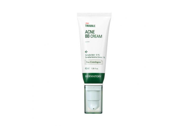 [DERMATORY] Pro Trouble Acne BB Cream - 40ml (SPF46 PA ++)
