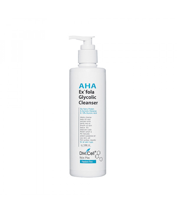 [DM.Cell] AHA Exfola Glycolic Cleanser - 250ml