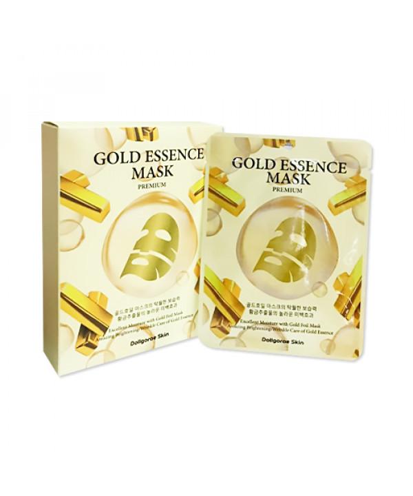 [DOLLGORAE SKIN] Gold Essence Foil Mask Premium - 1pack (10pcs)