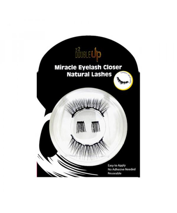 [DOUBLE UP] Miracle Eyelash Closer Natural Lashes - 1pcs