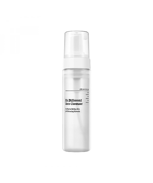 [Dr.Different] Zero Cleanser (For Normal & Dry Skin) - 200ml