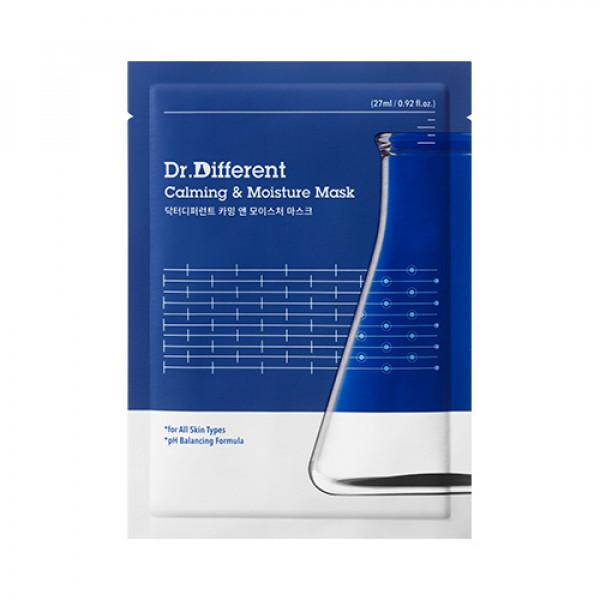 [Dr.Different] Calming & Moisture Mask - 5pcs