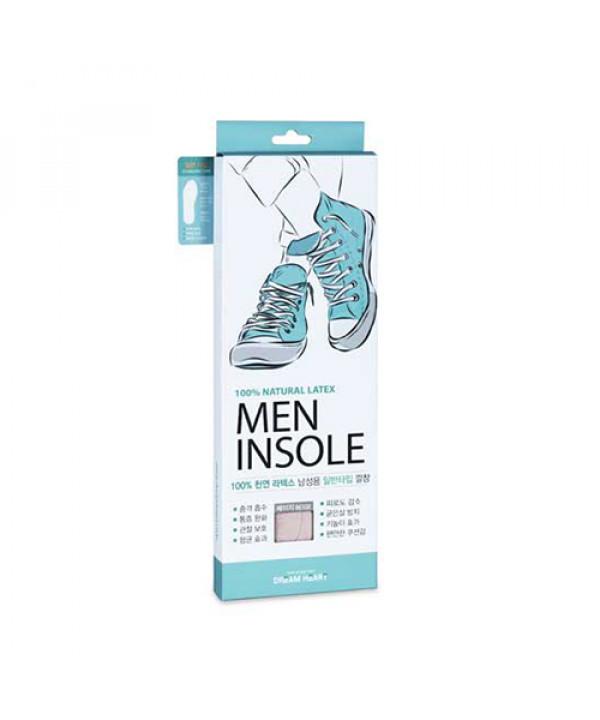 [DREAM HEART] Natural Latex Men Standard Type Insole - 1pack