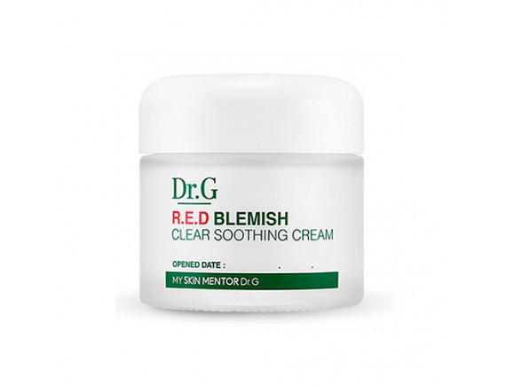 [Dr.G] Red Blemish Clear Soothing Cream - 70ml