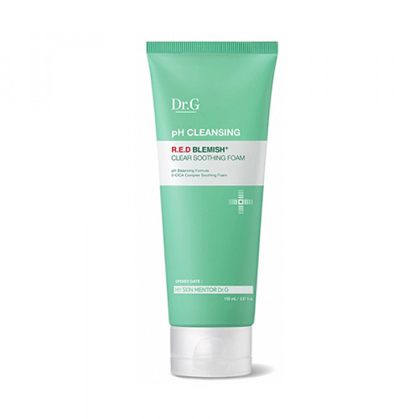 [Dr.G] pH Cleansing Red Blemish Clear Soothing Foam - 150ml
