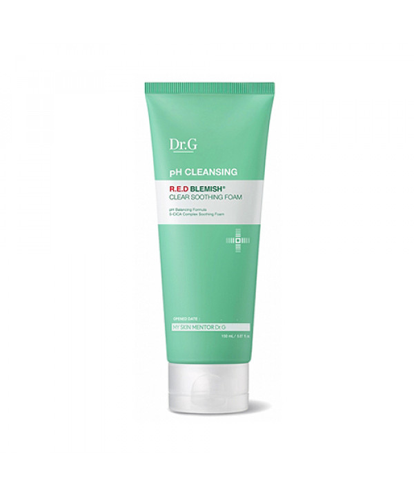 W-[Dr.G] pH Cleansing Red Blemish Clear Soothing Foam - 150ml x 10ea