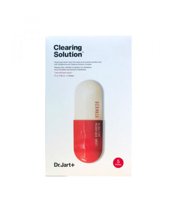 [Dr.Jart] Dermask Micro Jet Clearing Solution (2019) - 1pack (5pcs)