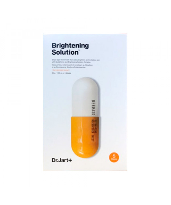 [Dr.Jart] Dermask Micro Jet Brightening Solution (2019) - 1pack (5pcs)