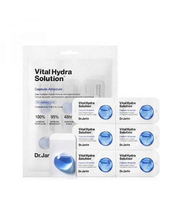 [Dr.Jart] Vital Hydra Solution Capsule Ampoule - 1pack (6pcs)