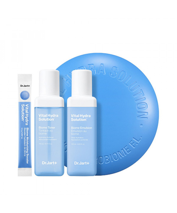[Dr.Jart] Vital Hydra Solution Biome Skincare Duo - 1pack (3items)