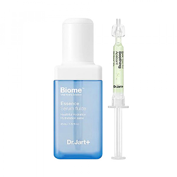 [Dr.Jart] Vital Hydra Solution Biome Essence And Green Shot - 1pack (45ml+1.2ml)