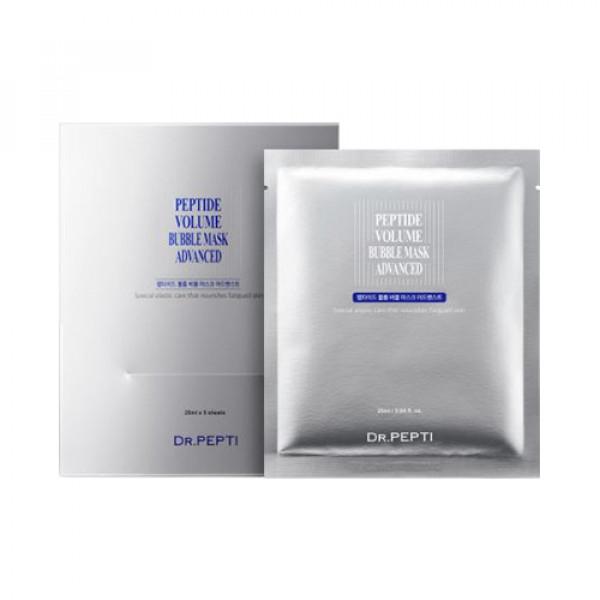 [DR.PEPTI] Peptide Volume Bubble Mask Advanced - 1pack (5pcs)