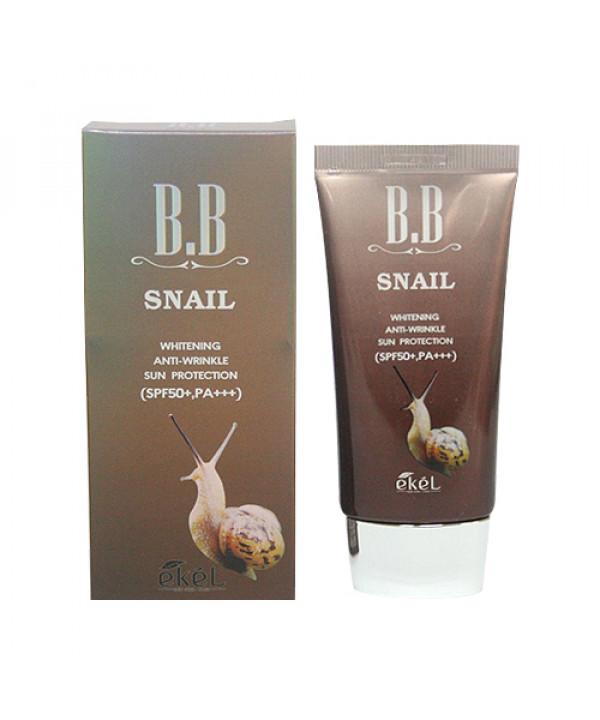 [EKEL] Snail BB Cream - 50ml (SPF50+ PA+++)