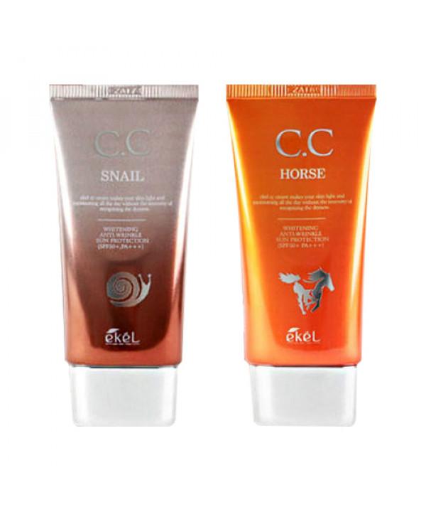 [EKEL] CC Cream - 50ml (SPF50+ PA+++) (Tube)