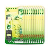 [ELIZAVECCA] Centella Asiatica Deep Power Ringer Mask Pack - 1pack (10pcs)