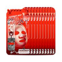 [ELIZAVECCA] Collagen Deep Power Ringer Mask Pack - 1pack (10pcs)