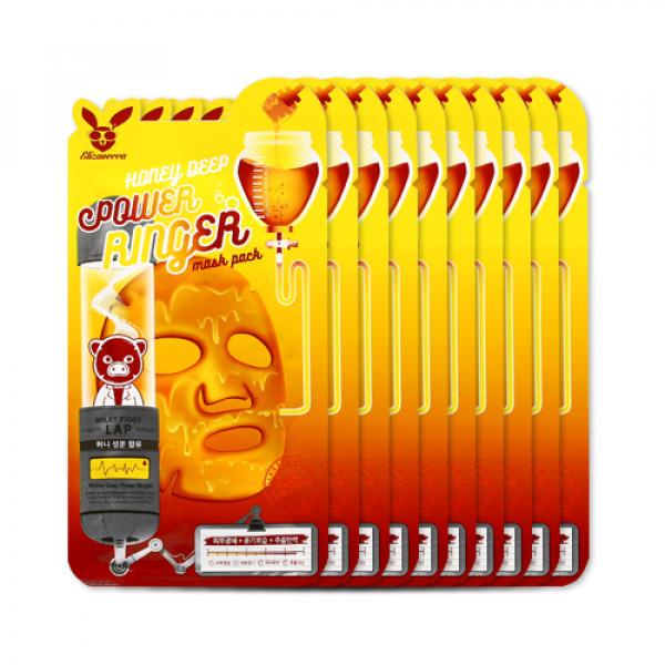 [ELIZAVECCA] Honey Deep Power Ringer Mask Pack - 1pack (10pcs)