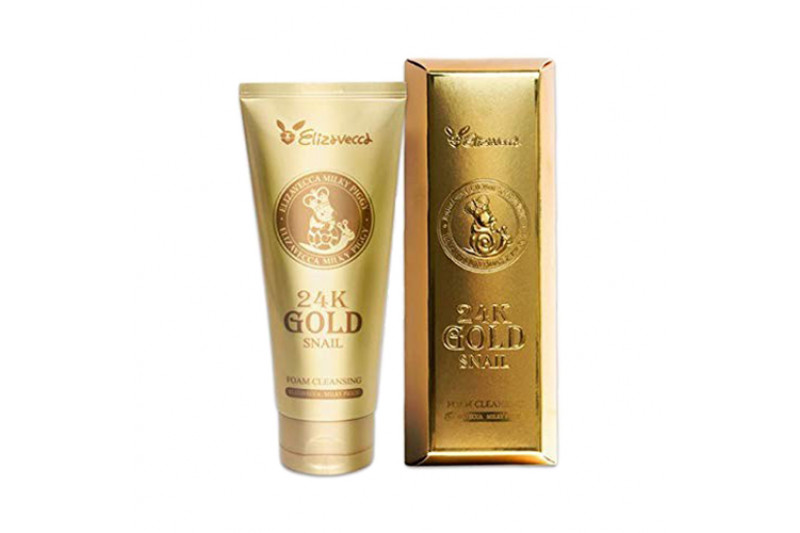 [ELIZAVECCA] 24k Gold Snail Foam Cleansing - 180ml