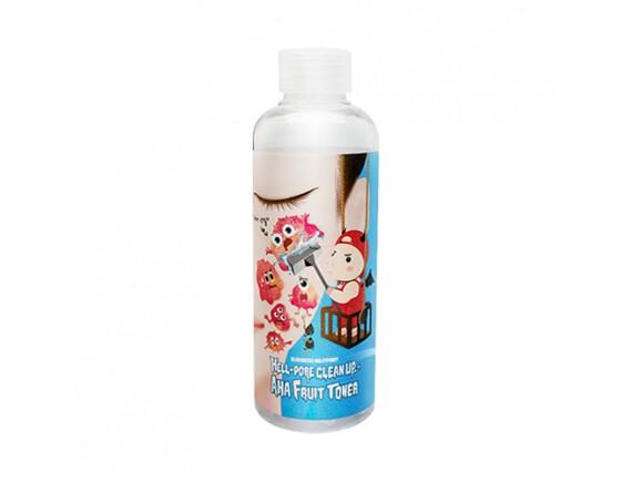 [ELIZAVECCA] Hell Pore Clean Up Aha Fruit Toner - 200ml