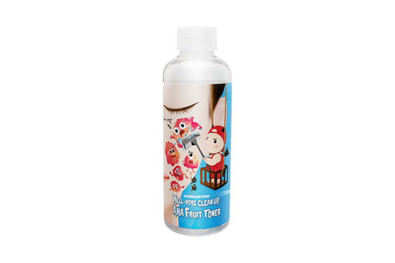 [ELIZAVECCA] Hell Pore Clean Up Aha Fruit Toner - 200ml